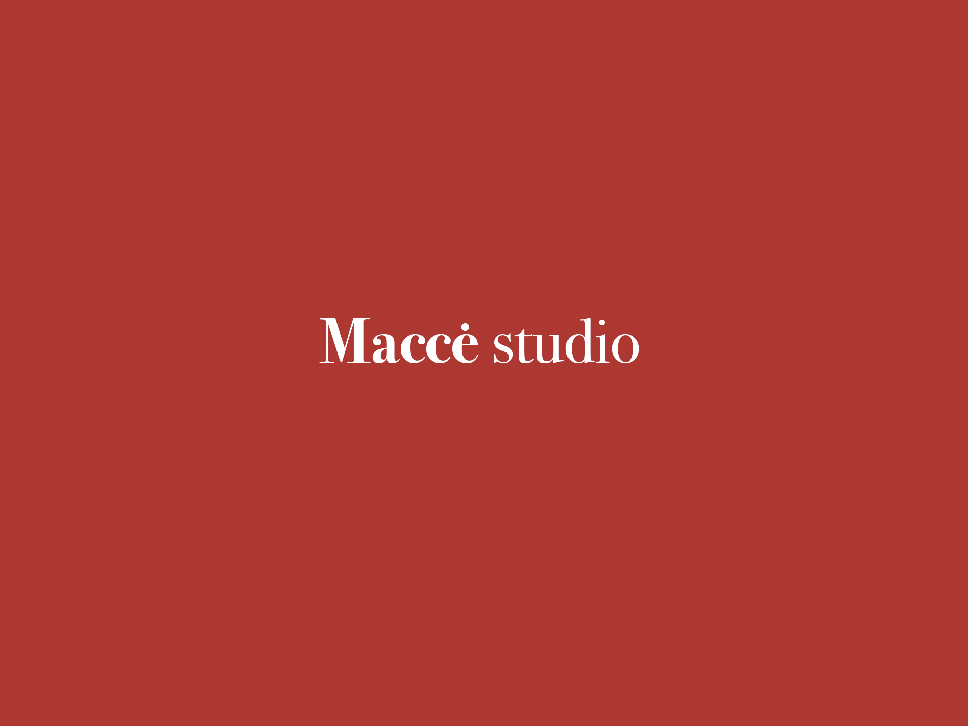 Logo Macce Sutdio